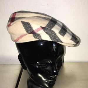 Burberry Other - Newspaper boy wool cap